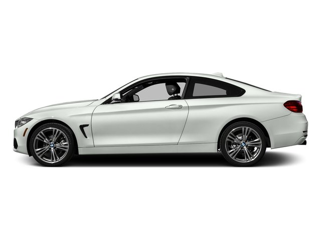 Alpine White 2017 BMW 4 Series Pictures 4 Series Coupe 2D 430xi AWD I4 Turbo photos side view