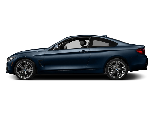 Midnight Blue Metallic 2017 BMW 4 Series Pictures 4 Series Coupe 2D 430xi AWD I4 Turbo photos side view