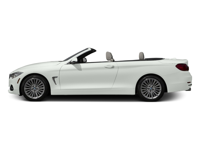 Alpine White 2017 BMW 4 Series Pictures 4 Series Convertible 2D 430xi AWD I4 Turbo photos side view
