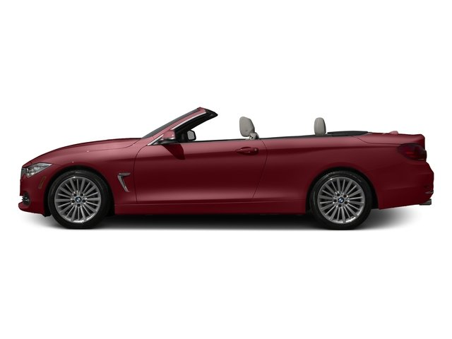 Melbourne Red Metallic 2017 BMW 4 Series Pictures 4 Series Convertible 2D 430xi AWD I4 Turbo photos side view