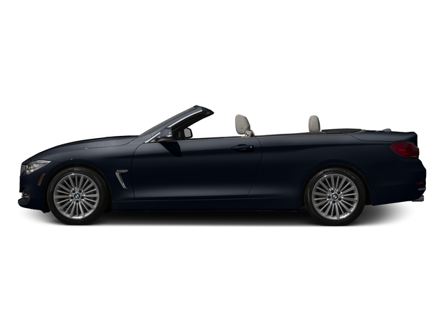 Imperial Blue Metallic 2017 BMW 4 Series Pictures 4 Series Convertible 2D 430i I4 Turbo photos side view