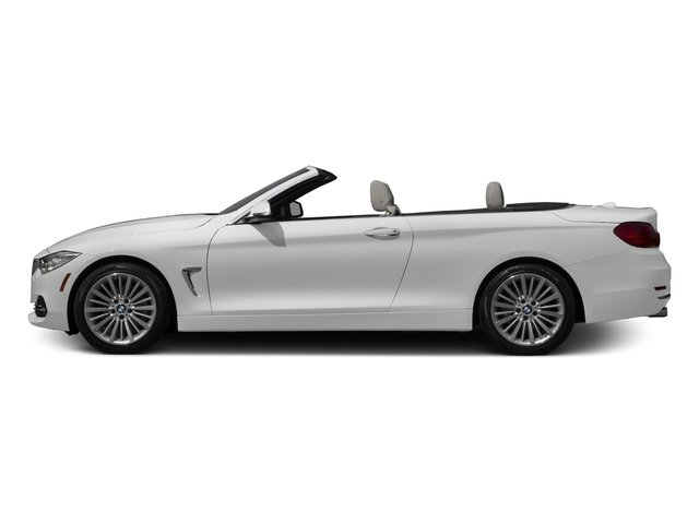 Mineral White Metallic 2017 BMW 4 Series Pictures 4 Series Convertible 2D 430i I4 Turbo photos side view