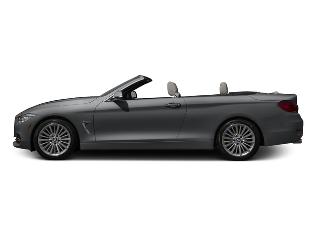 Mineral Gray Metallic 2017 BMW 4 Series Pictures 4 Series Convertible 2D 430i I4 Turbo photos side view
