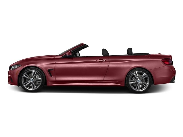 Melbourne Red Metallic 2017 BMW 4 Series Pictures 4 Series Convertible 2D 440i I6 Turbo photos side view