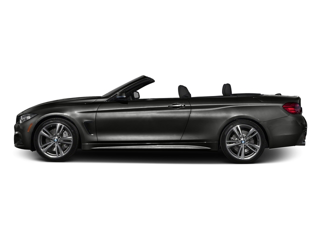 Citrin Black Metallic 2017 BMW 4 Series Pictures 4 Series Convertible 2D 440i I6 Turbo photos side view