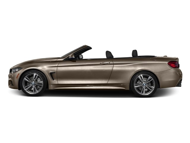 Champagne Quartz Metallic 2017 BMW 4 Series Pictures 4 Series Convertible 2D 440i I6 Turbo photos side view