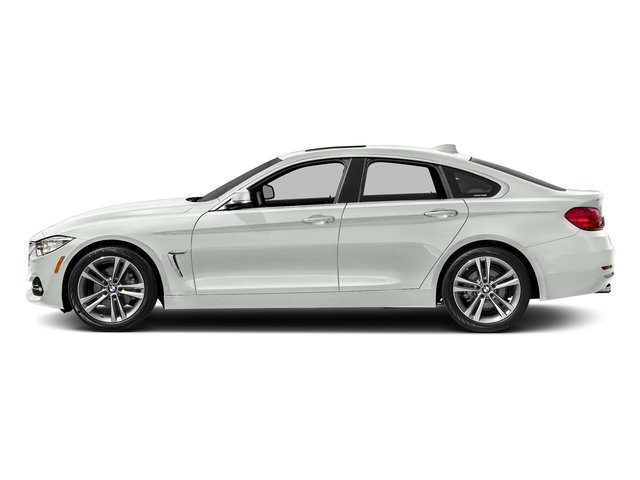 Alpine White 2017 BMW 4 Series Pictures 4 Series Sedan 4D 430xi AWD I4 Turbo photos side view