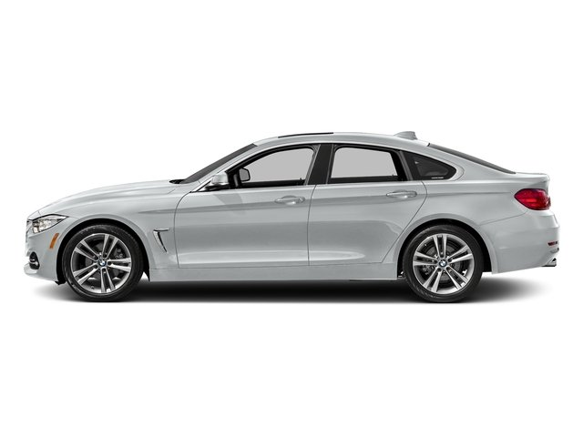 Glacier Silver Metallic 2017 BMW 4 Series Pictures 4 Series Sedan 4D 430xi AWD I4 Turbo photos side view