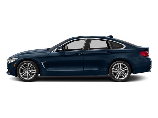 Midnight Blue Metallic 2017 BMW 4 Series Pictures 4 Series Sedan 4D 430xi AWD I4 Turbo photos side view
