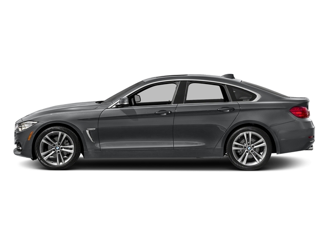 Mineral Gray Metallic 2017 BMW 4 Series Pictures 4 Series Sedan 4D 430xi AWD I4 Turbo photos side view