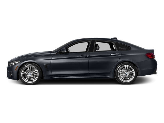 Imperial Blue Metallic 2017 BMW 4 Series Pictures 4 Series Sedan 4D 440i I6 Turbo photos side view