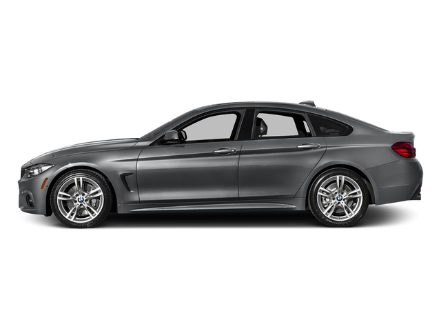 Mineral Gray Metallic 2017 BMW 4 Series Pictures 4 Series Sedan 4D 440i I6 Turbo photos side view