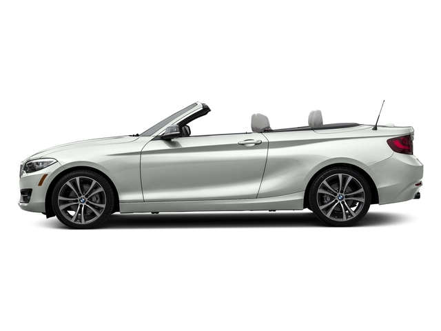 Alpine White 2017 BMW 2 Series Pictures 2 Series Convertible 2D 230xi AWD I4 Turbo photos side view