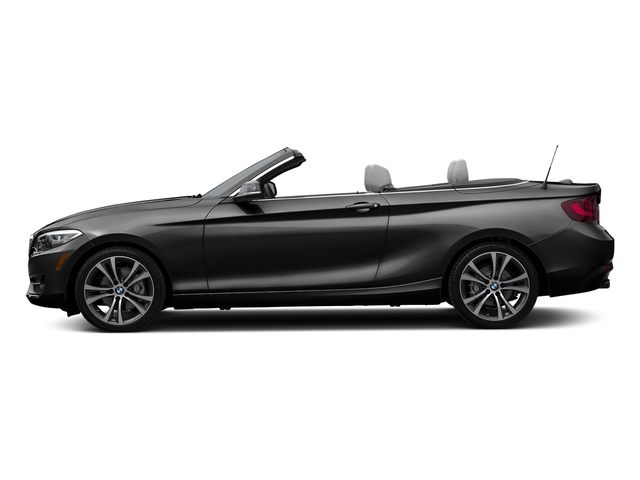 Black Sapphire Metallic 2017 BMW 2 Series Pictures 2 Series Convertible 2D 230xi AWD I4 Turbo photos side view