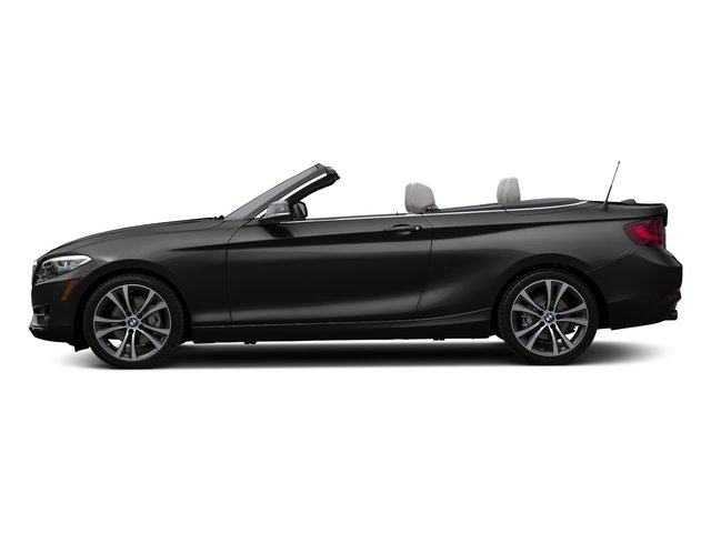 Jet Black 2017 BMW 2 Series Pictures 2 Series Convertible 2D 230xi AWD I4 Turbo photos side view