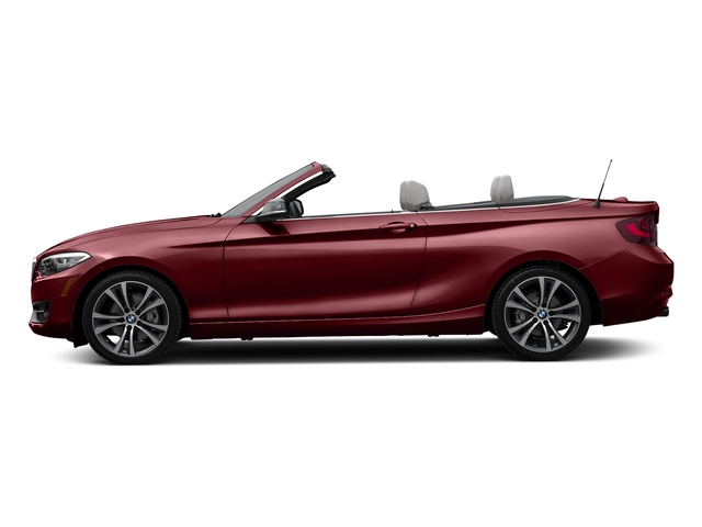 Melbourne Red Metallic 2017 BMW 2 Series Pictures 2 Series Convertible 2D 230xi AWD I4 Turbo photos side view