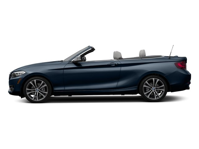 Deep Sea Blue Metallic 2017 BMW 2 Series Pictures 2 Series Convertible 2D 230xi AWD I4 Turbo photos side view