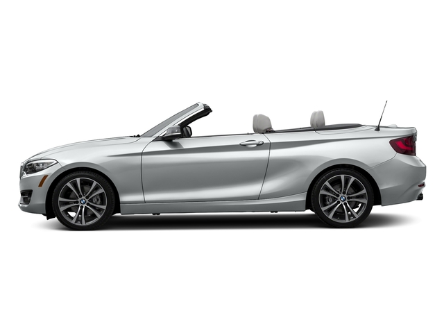 Glacier Silver Metallic 2017 BMW 2 Series Pictures 2 Series Convertible 2D 230xi AWD I4 Turbo photos side view