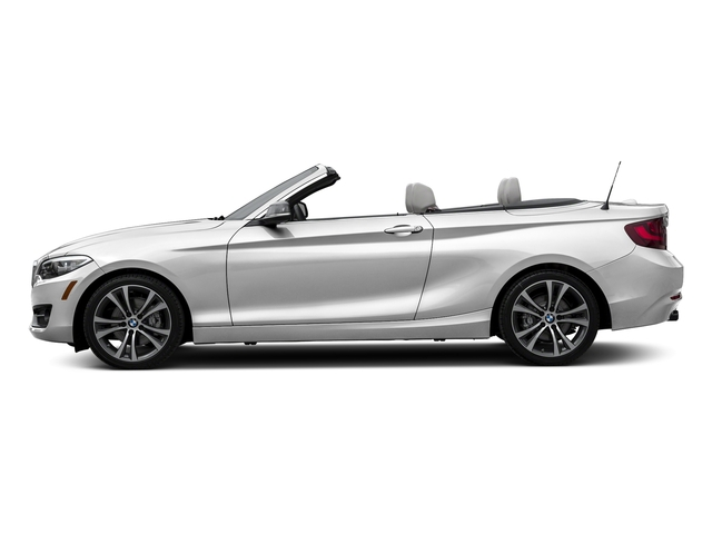 Mineral White Metallic 2017 BMW 2 Series Pictures 2 Series Convertible 2D 230xi AWD I4 Turbo photos side view
