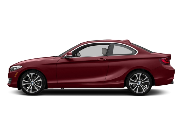 Melbourne Red Metallic 2017 BMW 2 Series Pictures 2 Series Coupe 2D 230xi AWD I4 Turbo photos side view