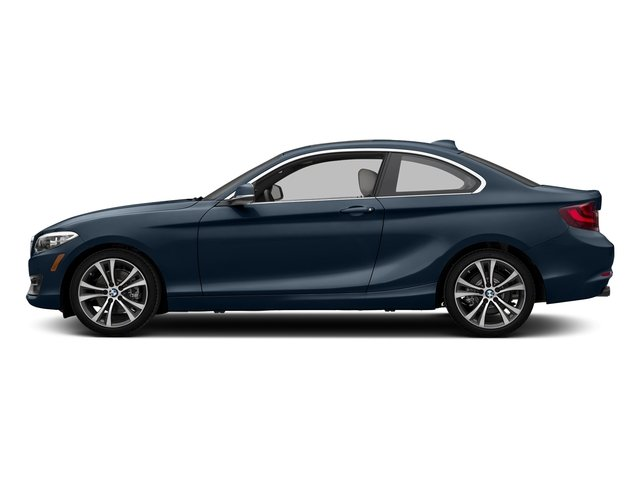 Deep Sea Blue Metallic 2017 BMW 2 Series Pictures 2 Series Coupe 2D 230xi AWD I4 Turbo photos side view