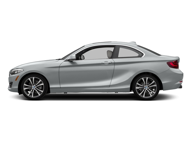 Glacier Silver Metallic 2017 BMW 2 Series Pictures 2 Series Coupe 2D 230xi AWD I4 Turbo photos side view