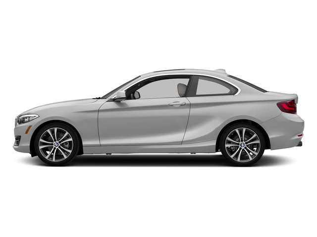 Mineral White Metallic 2017 BMW 2 Series Pictures 2 Series Coupe 2D 230xi AWD I4 Turbo photos side view