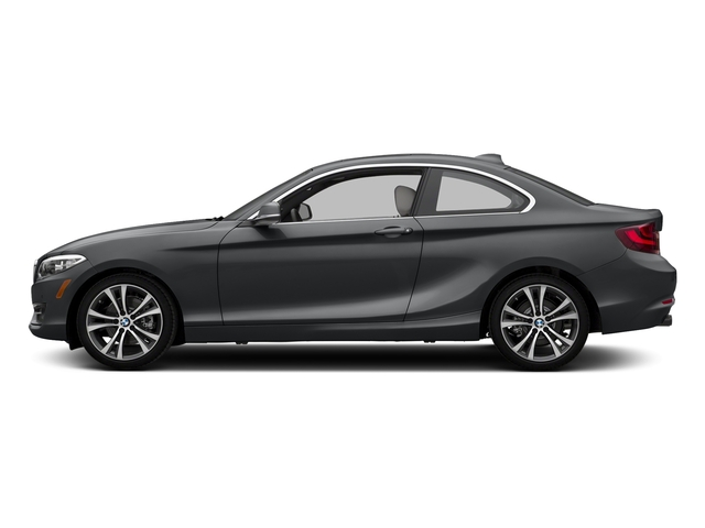 Mineral Gray Metallic 2017 BMW 2 Series Pictures 2 Series Coupe 2D 230xi AWD I4 Turbo photos side view