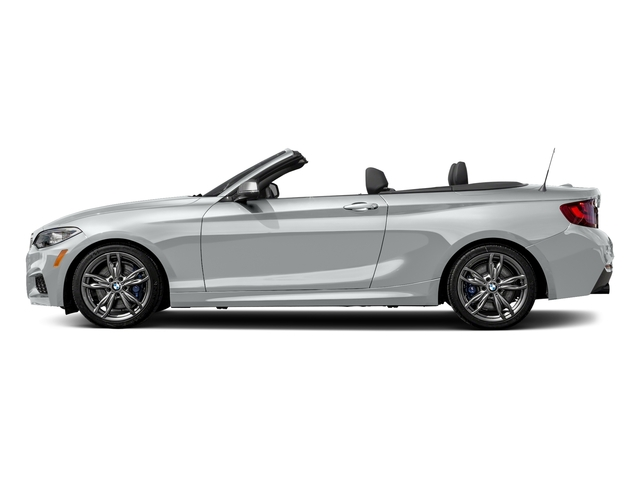 Glacier Silver Metallic 2017 BMW 2 Series Pictures 2 Series Convertible 2D M240i I6 Turbo photos side view