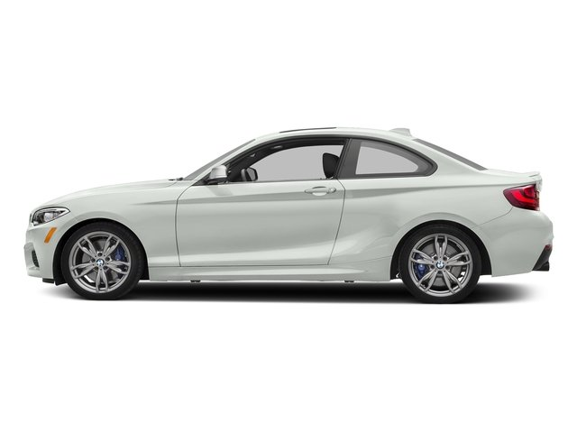 Alpine White 2017 BMW 2 Series Pictures 2 Series Coupe 2D M240i I6 Turbo photos side view