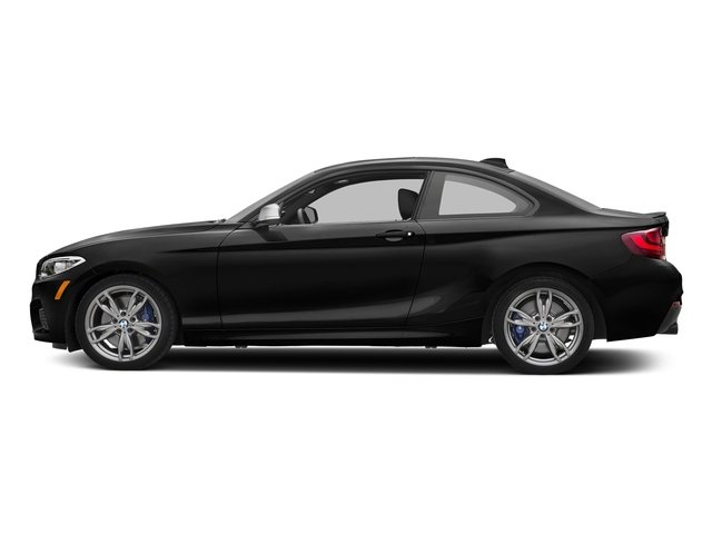 Black Sapphire Metallic 2017 BMW 2 Series Pictures 2 Series Coupe 2D M240i I6 Turbo photos side view
