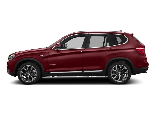 Melbourne Red Metallic 2017 BMW X3 Pictures X3 Utility 4D 28i AWD I4 Turbo photos side view