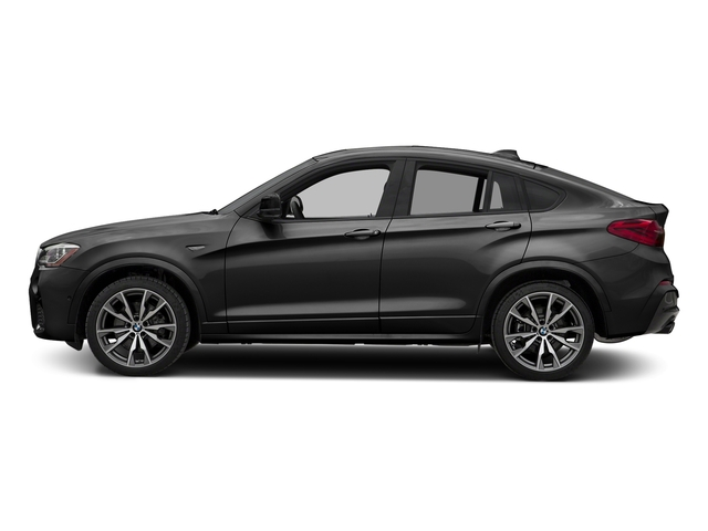 Dark Graphite Metallic 2017 BMW X4 Pictures X4 Utility 4D 28i AWD I4 Turbo photos side view