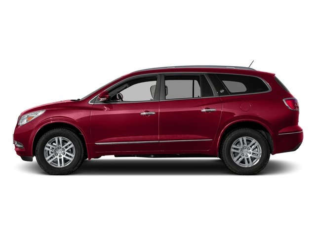 Crimson Red Tintcoat 2017 Buick Enclave Pictures Enclave AWD 4dr Premium photos side view