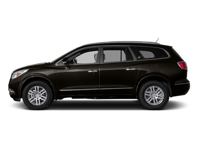 Dark Chocolate Metallic 2017 Buick Enclave Pictures Enclave AWD 4dr Premium photos side view