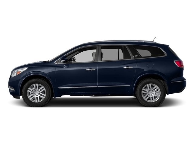 Dark Sapphire Blue Metallic 2017 Buick Enclave Pictures Enclave AWD 4dr Premium photos side view