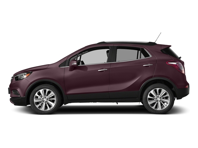 Black Cherry Metallic 2017 Buick Encore Pictures Encore AWD 4dr Preferred II photos side view