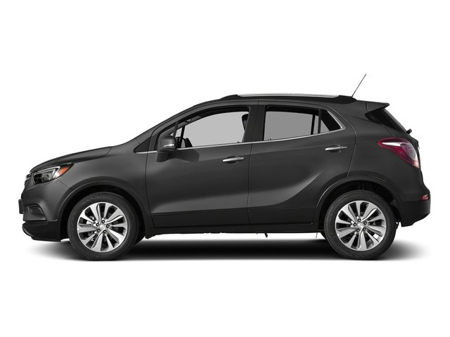 Graphite Gray Metallic 2017 Buick Encore Pictures Encore AWD 4dr Preferred II photos side view
