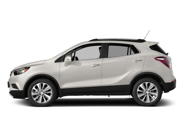 White Frost Tricoat 2017 Buick Encore Pictures Encore AWD 4dr Preferred II photos side view