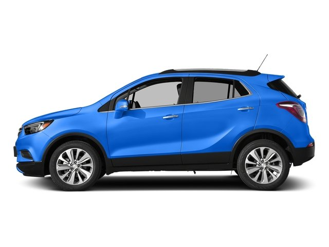 Coastal Blue Metallic 2017 Buick Encore Pictures Encore AWD 4dr Preferred II photos side view