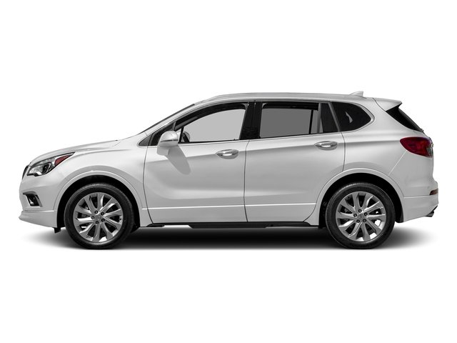 Summit White 2017 Buick Envision Pictures Envision FWD 4dr photos side view