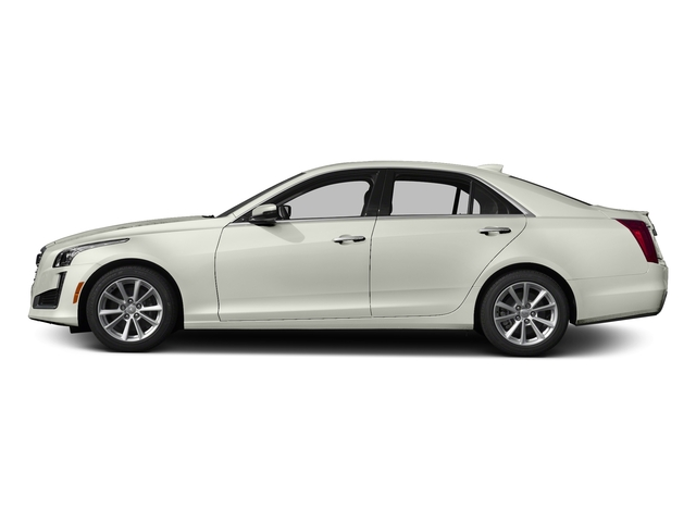 Crystal White Tricoat 2017 Cadillac CTS Sedan Pictures CTS Sedan 4D AWD I4 Turbo photos side view