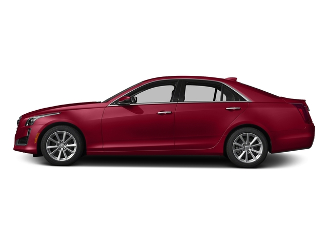 Red Obsession Tintcoat 2017 Cadillac CTS Sedan Pictures CTS Sedan 4D AWD I4 Turbo photos side view