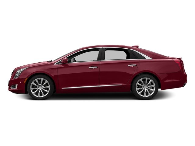 Red Passion Tintcoat 2017 Cadillac XTS Pictures XTS Sedan 4D Luxury AWD V6 photos side view