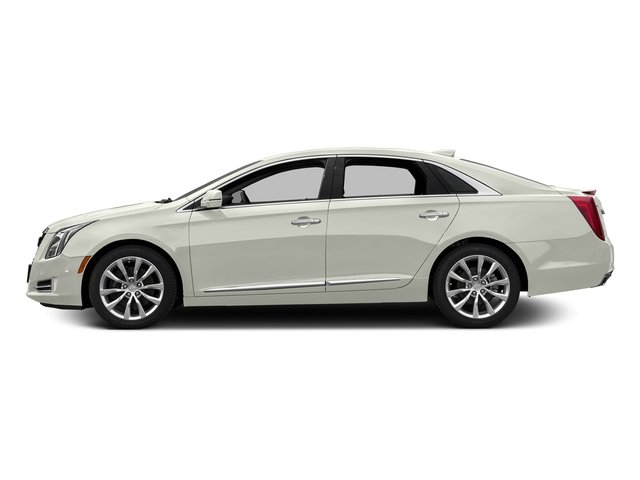Crystal White Tricoat 2017 Cadillac XTS Pictures XTS Sedan 4D Luxury AWD V6 photos side view