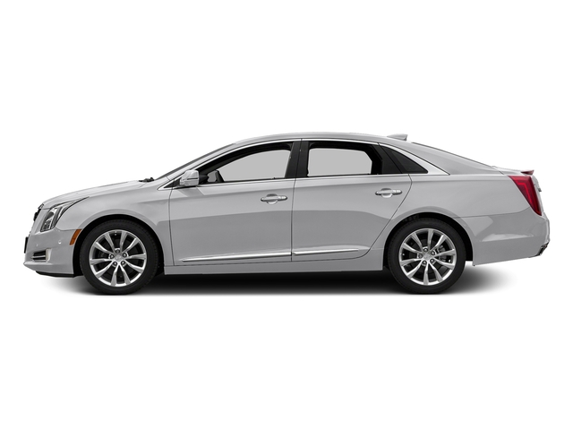 Radiant Silver Metallic 2017 Cadillac XTS Pictures XTS Sedan 4D Luxury AWD V6 photos side view
