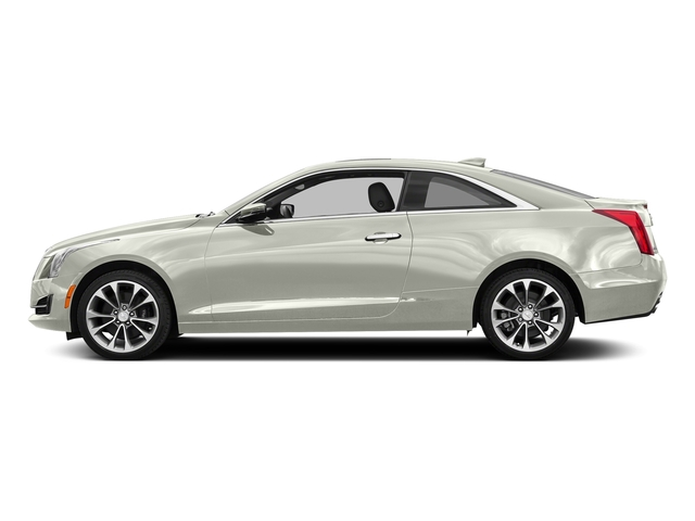 Crystal White Tricoat 2017 Cadillac ATS Coupe Pictures ATS Coupe 2D Premium Performance V6 photos side view