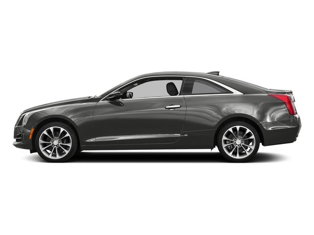 Moonstone Metallic 2017 Cadillac ATS Coupe Pictures ATS Coupe 2D Premium Performance V6 photos side view