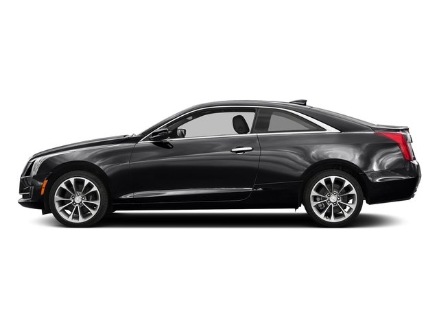 Stellar Black Metallic 2017 Cadillac ATS Coupe Pictures ATS Coupe 2D Premium Performance V6 photos side view