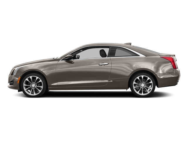 Bronze Dune Metallic 2017 Cadillac ATS Coupe Pictures ATS Coupe 2D Premium Performance V6 photos side view